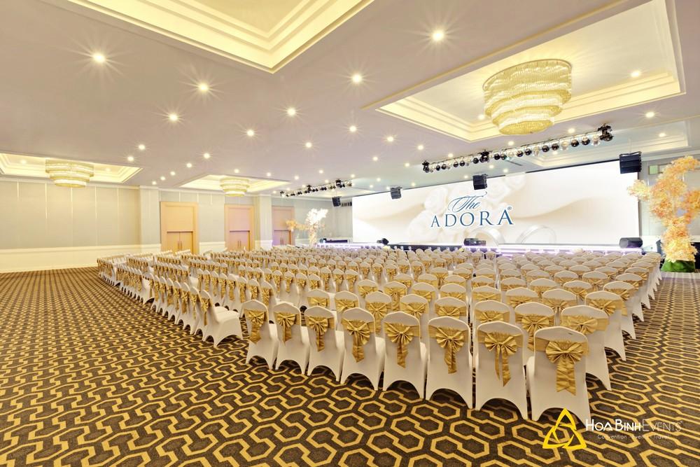 địa điểm tổ chức tiệc tất niên Adora Luxury