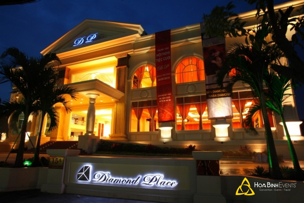 tổ chức sự kiện tại diamond palace