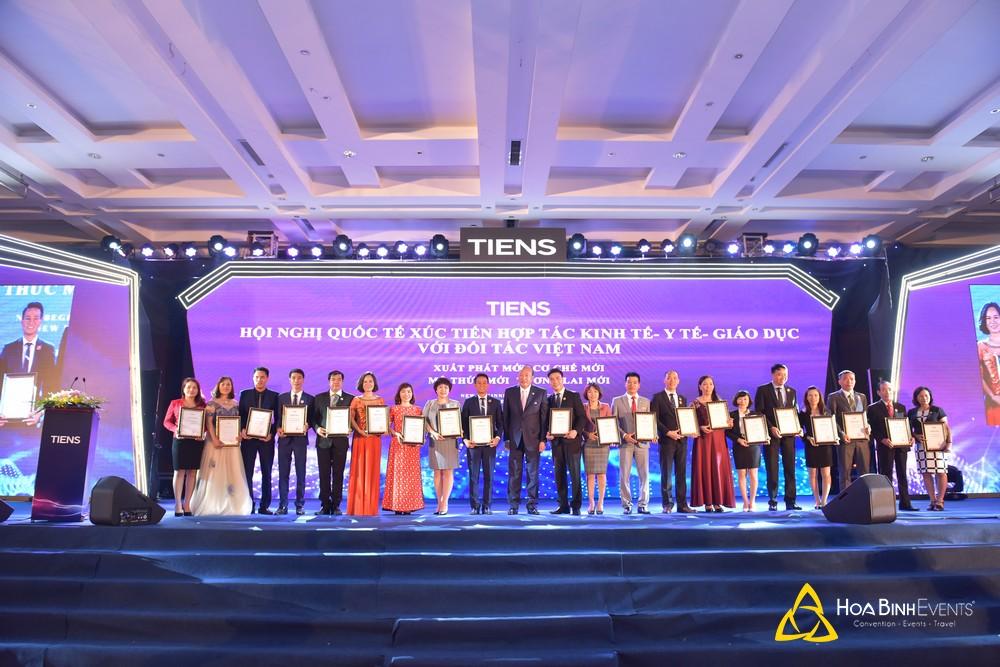 TIENS: Hội nghị quốc tế xúc tiến hợp tác kinh tế - y tế - giáo dục với đối tác Việt Nam
