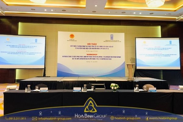 Hình ảnh tại hội nghị trực tuyến diễn ra ngày 14/7 tại Hà Nội