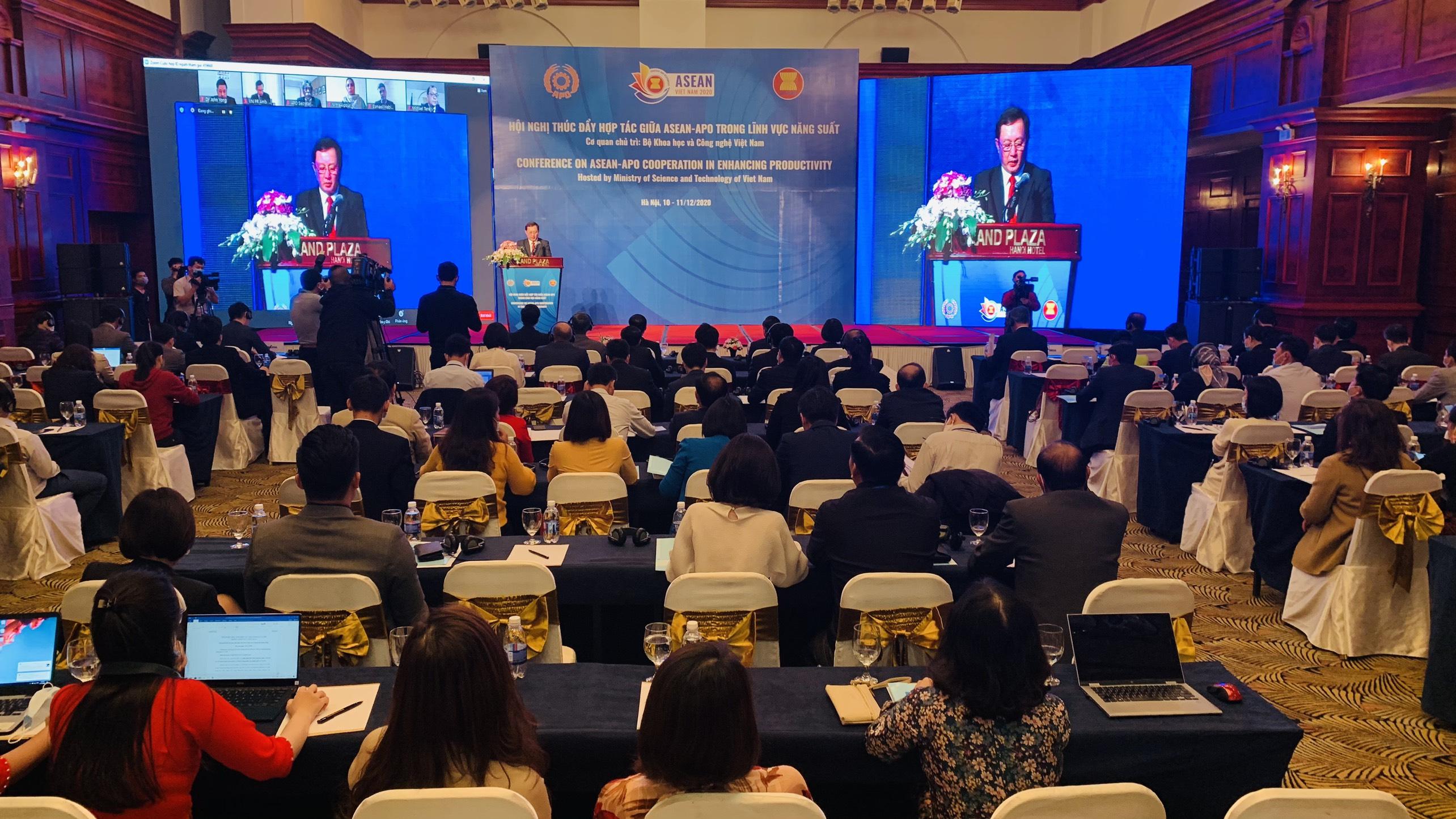 Hội nghị thúc đẩy hợp tác giữa ASEAN -APO trong lĩnh vực năng suất