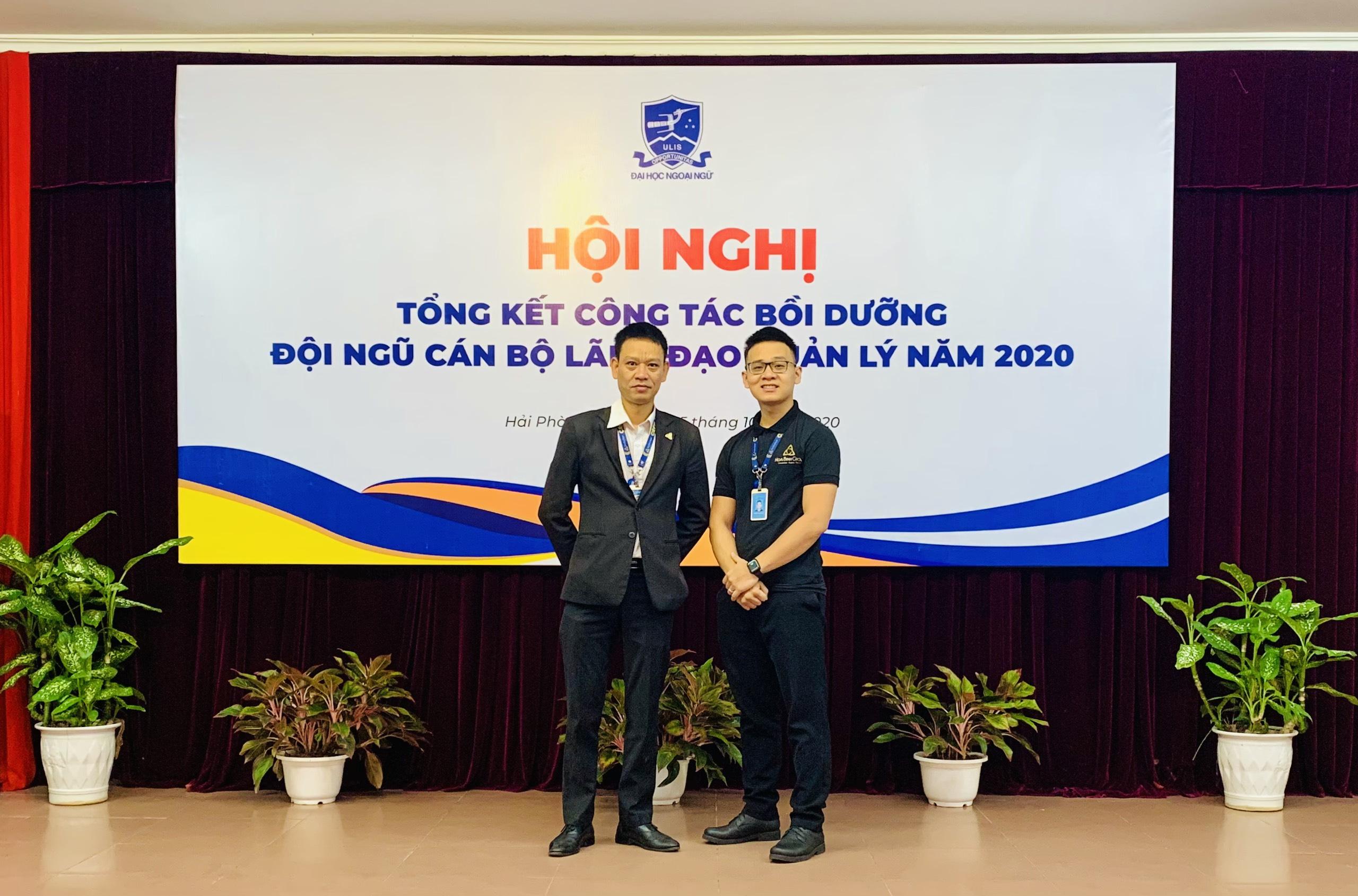 Trường DHNN - Hội nghị tổng kết công tác bồi dưỡng đội ngũ cán bộ lãnh đạo quản lý năm 2020