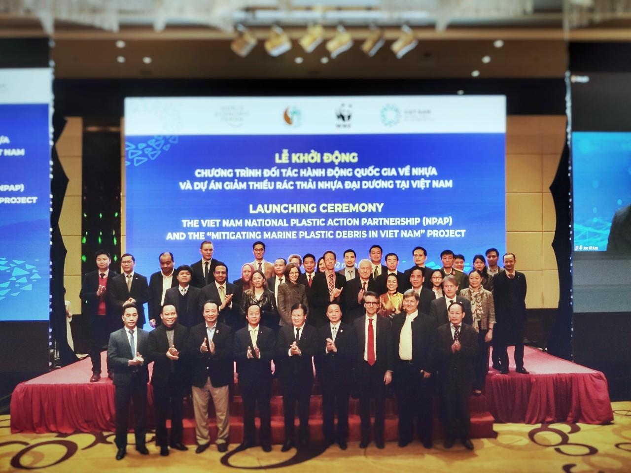 Lễ khởi động Chương trình Đối tác Hành động Quốc gia về Nhựa