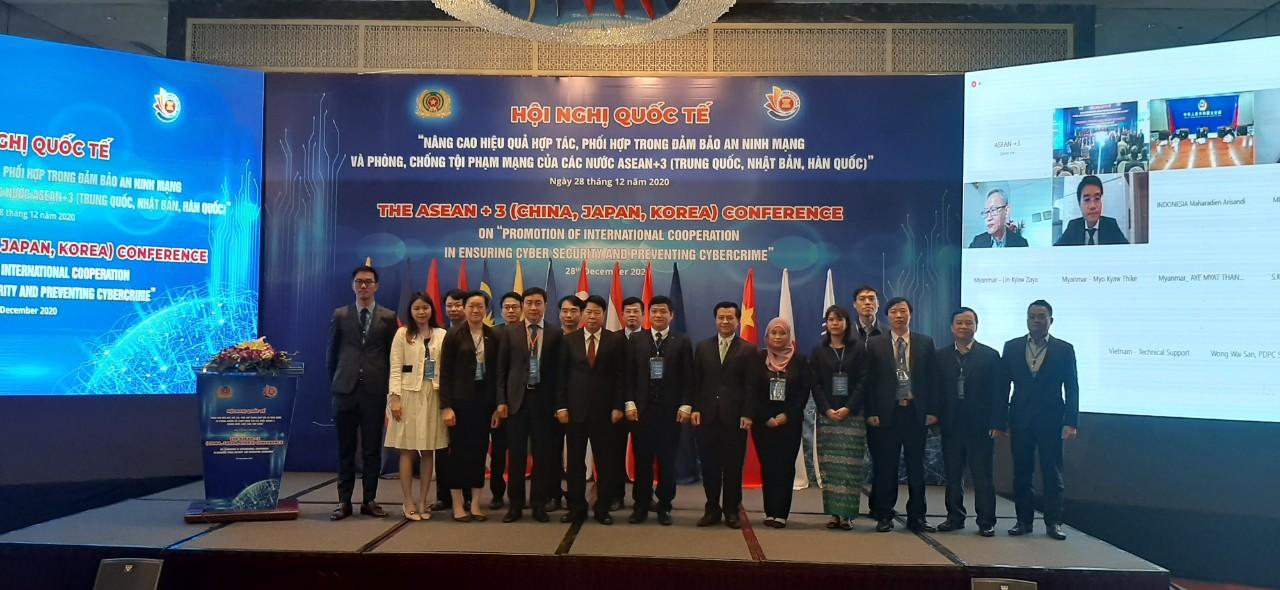 Hội nghị quốc tế Nâng cao hiệu quả hợp tác, phối hợp trong đảm bảo an ninh mạng và phòng, chống tội phạm mạng của các nước ASEAN cộng 3