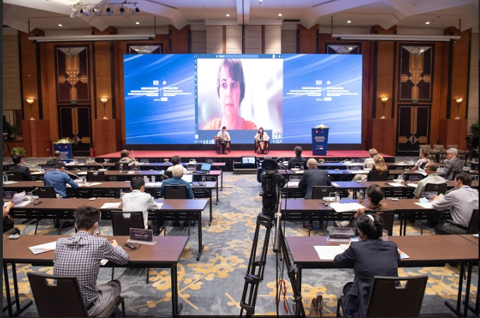 """Đối thoại biển với chủ đề """"Phát triển biển bền vững: Chia sẻ quan điểm của Việt Nam và EU"""""""