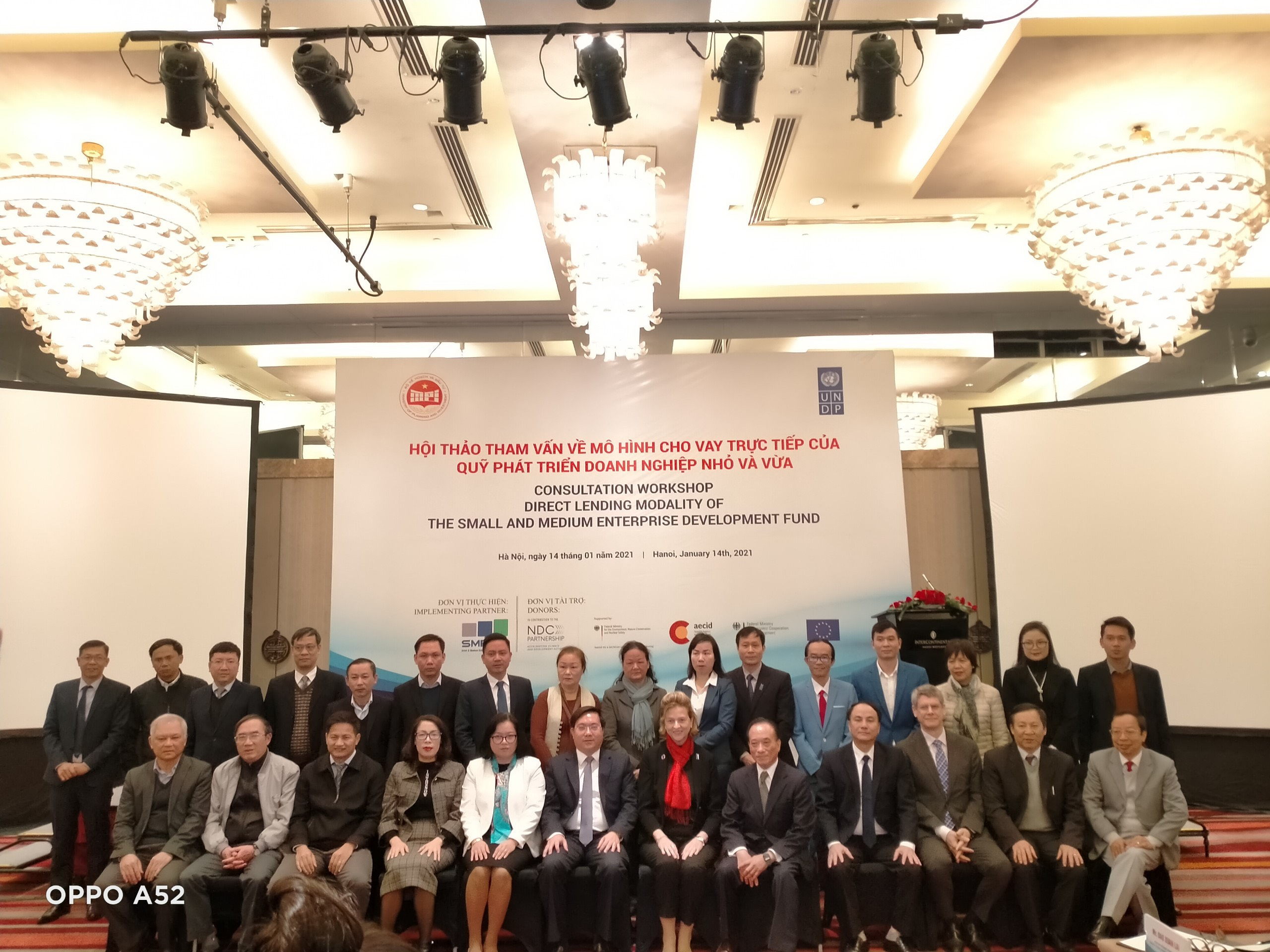 Hội thảo tham vấn về mô hình cho vay trực tiếp của quỹ phát triển doanh nghiệp nhỏ và vừa
