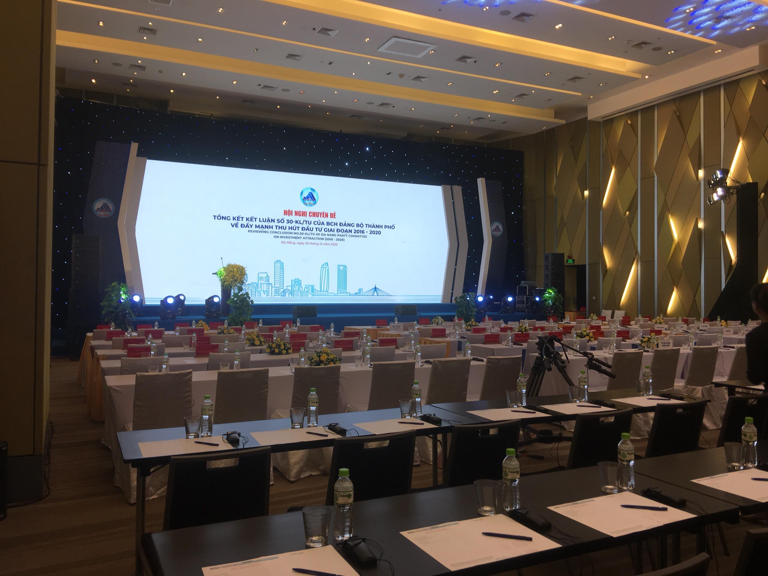Hội nghị tổng kết thực hiện Kết luân số 30 - KL/TU của Thành uỷ Đà Nẵng về đẩy mạnh thu hút đầu tư giai đoạn 2016-2020