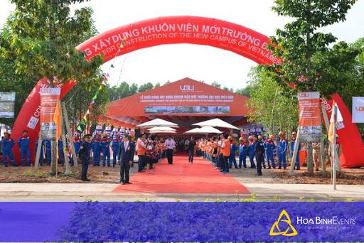 Sự kiện khởi công khuôn viên trường Việt Đức
