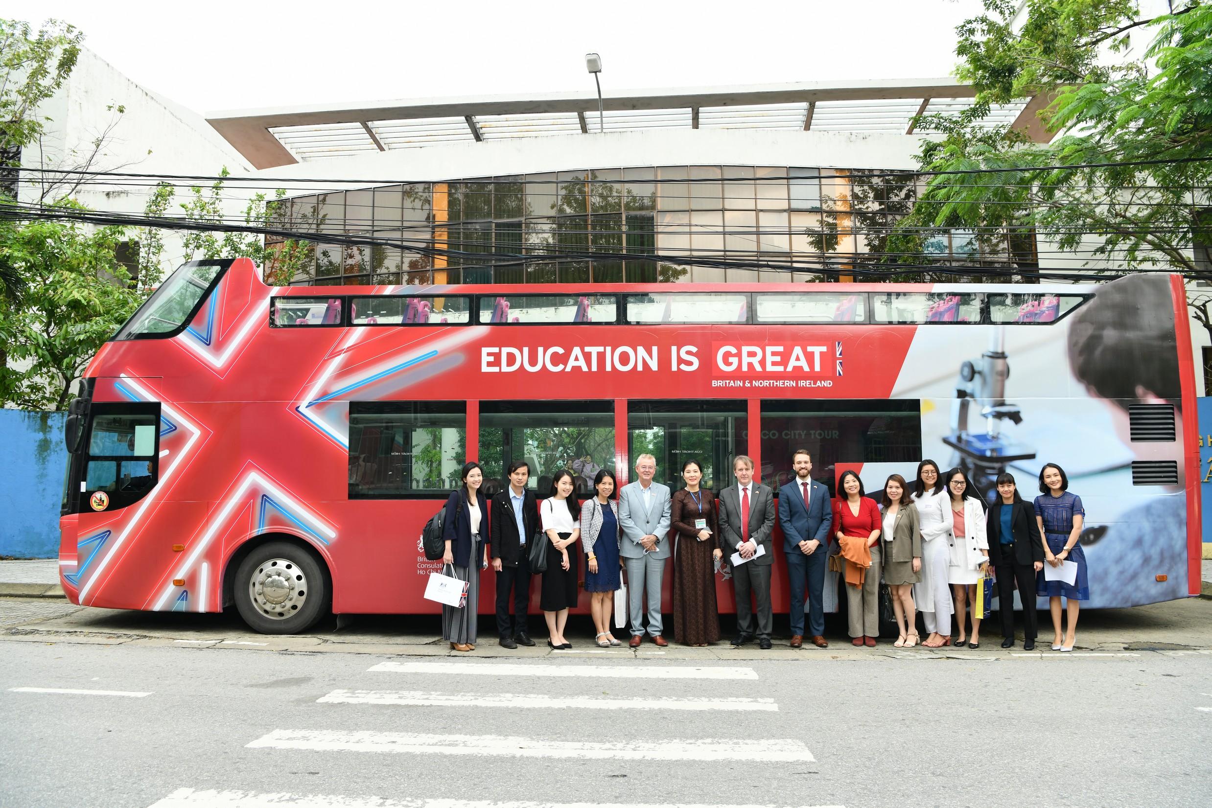 Hành trình giáo dục và công nghệ vương quốc Anh tại Đà Nẵng
