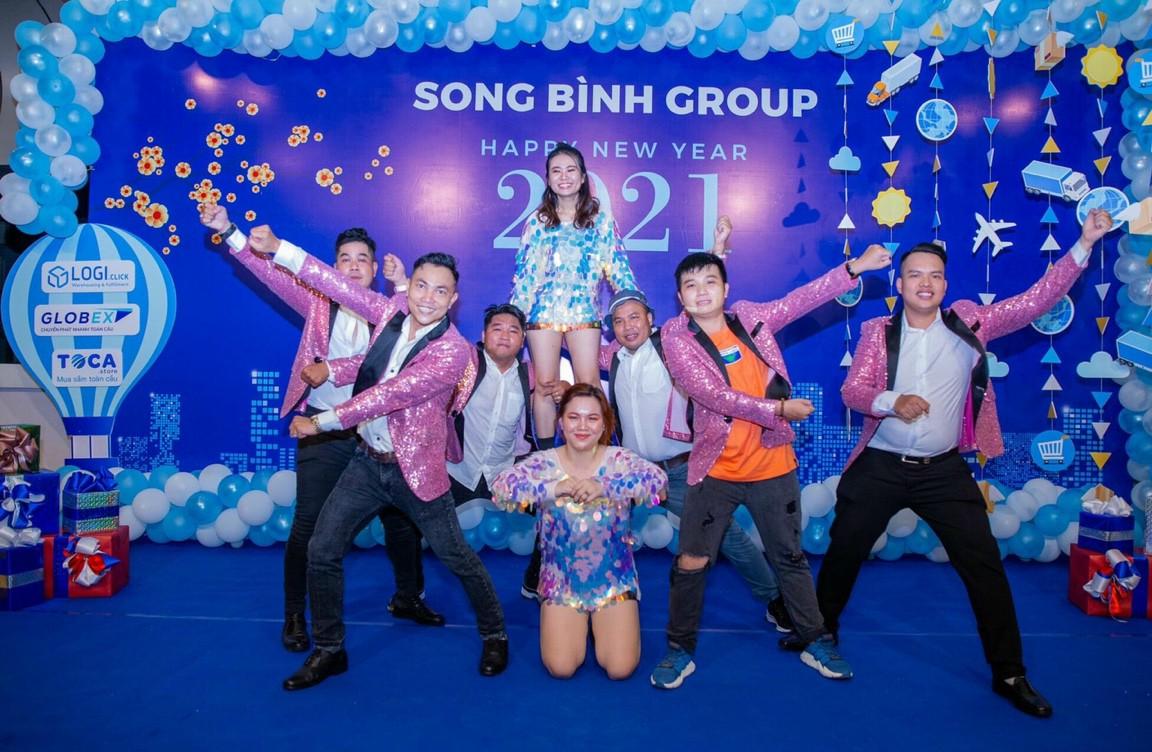 Tiệc tất niên Song Bình Group