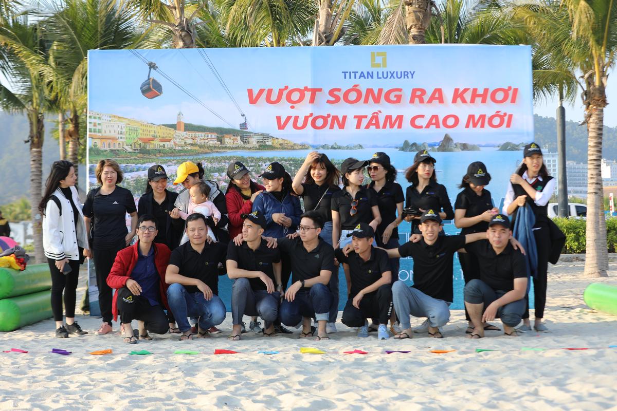 Tour team building kết hợp Gala công ty TITAN LUXURY