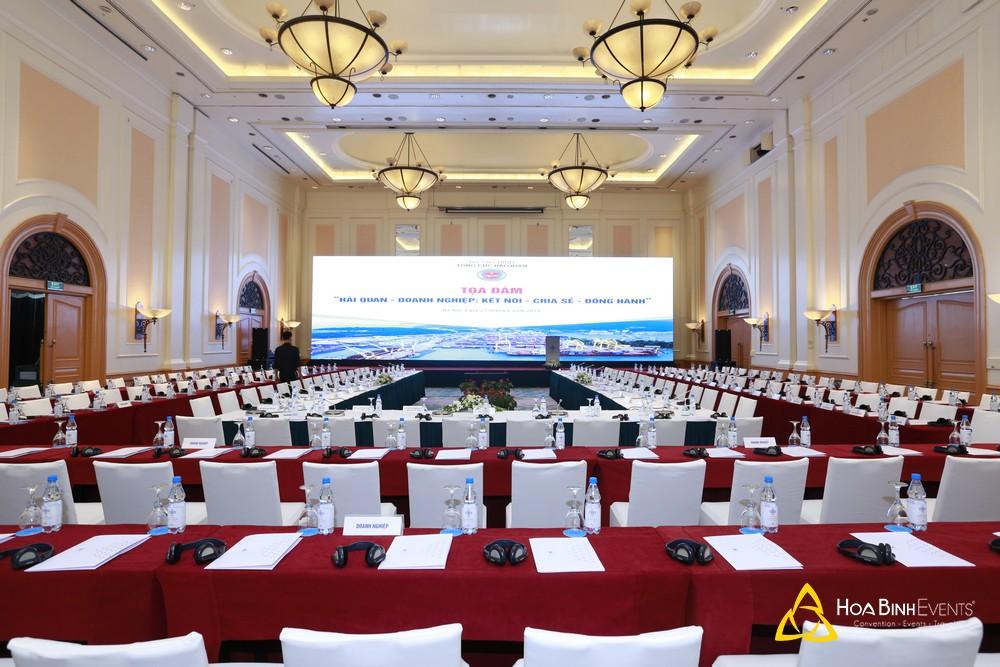 Tọa đàm Hải quan - doanh nghiệp : Kết nối - chia sẻ - đồng hành