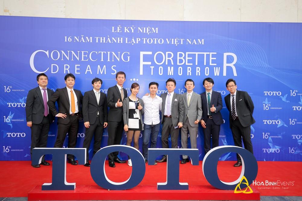 photobooth tại sự kiện của TOTO Việt Nam