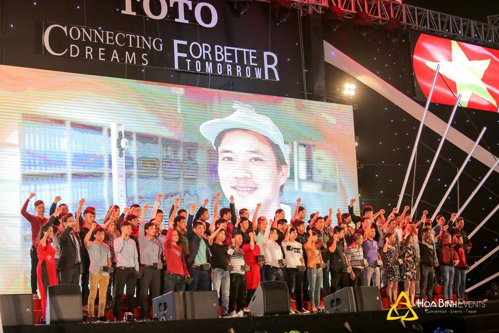 Lễ kỷ niệm 16 năm thành lập TOTO Việt Nam
