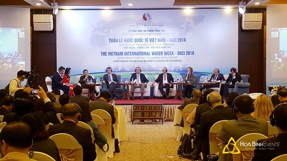 Tuần lễ Nước Quốc tế Việt Nam - VACI 2018