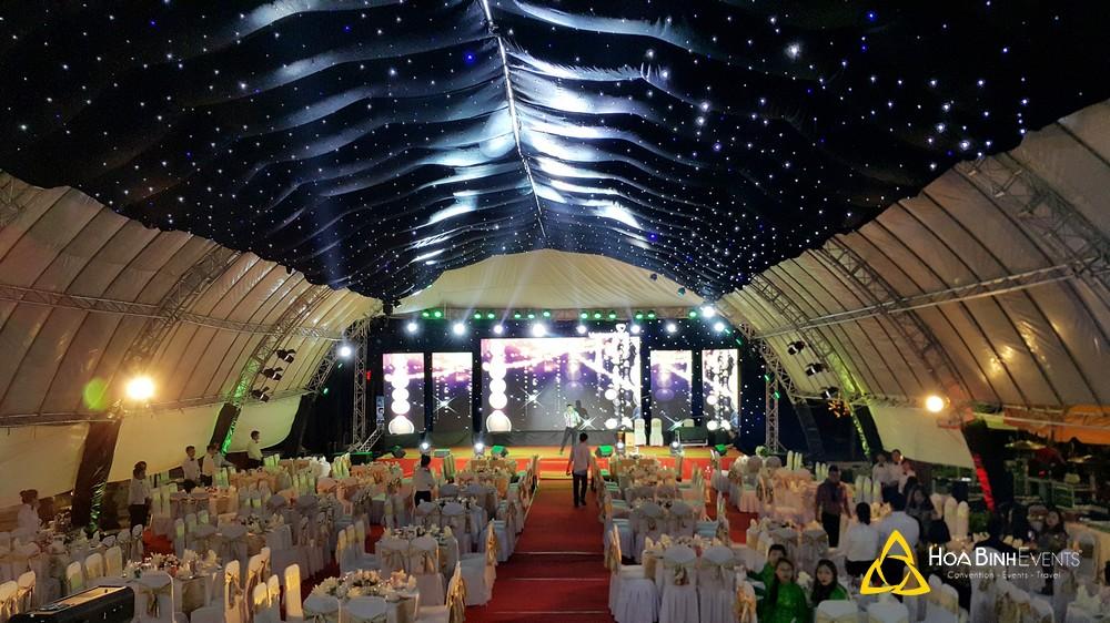Sự kiện gala dinner của Vietcombank do HoaBinh Events tổ chức ở Đà Lạt