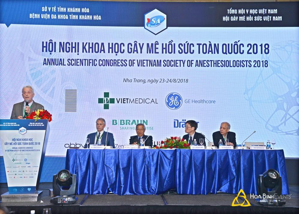 Hội nghị khoa học Gây mê hồi sức toàn quốc 2018 (VSA2018)