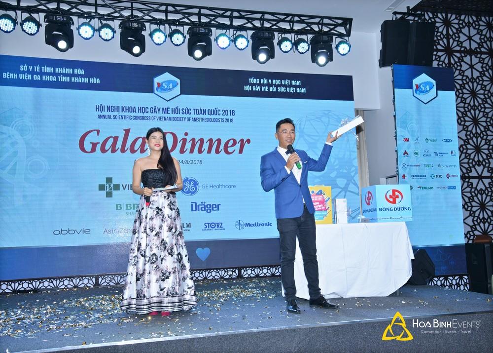 Gala Dinner Hội nghị khoa học Gây mê hồi sức toàn quốc 2018 (VSA2018)
