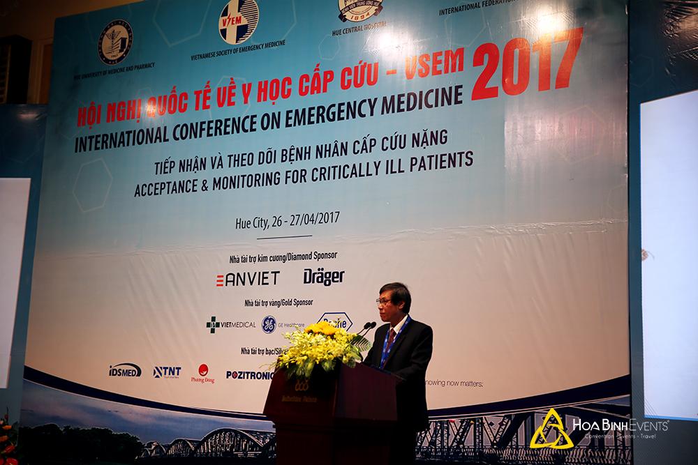 Hội nghị quốc tế về Y học cấp cứu 2017 (VSEM 2017)