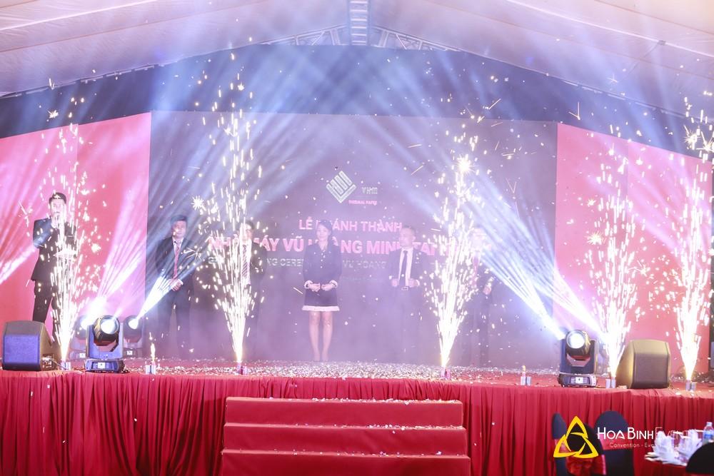 Lễ khánh thành nhà máy Vũ Hoàng Minh tại Hà Nội