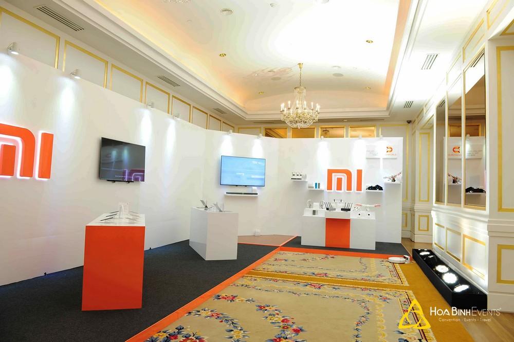 Triển lãm giới thiệu sản phẩm điện thoại Xiaomi mới