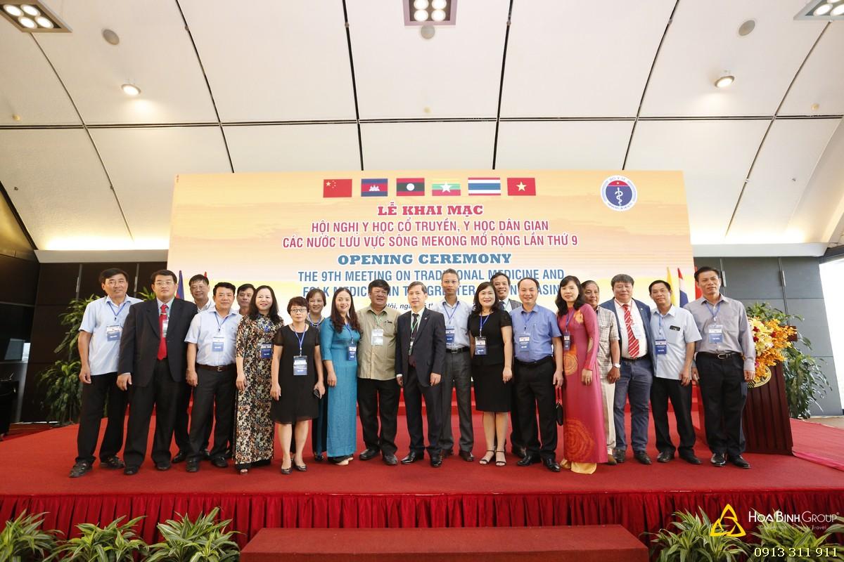 Lễ khai mạc Hội nghị Y học cổ truyền - Y học Dân gian các nước lưu vực sông Mekong mở rộng lần thứ 9