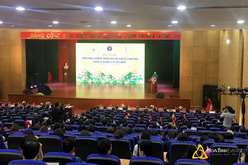 Hội nghị Triển khai chương trình Đào tạo cán bộ lãnh đạo, quản lý ngành Y tế